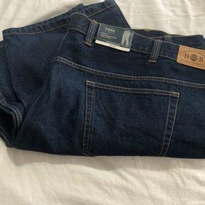 Men's Harbor Bay Jeans 56x28 NWT